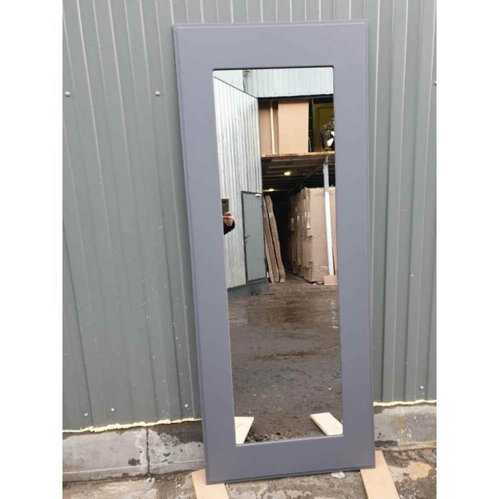 Входная дверь REX 13 Бетон пастораль графит софт