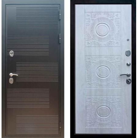 Входная металлическая дверь Рекс Премиум 185 Д 18 Сосна белая