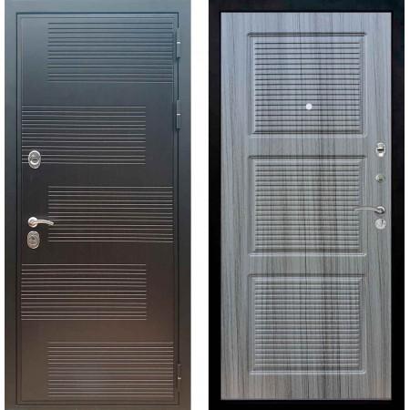 Входная металлическая дверь Рекс Премиум 185 ФЛ 1 Сандал серый