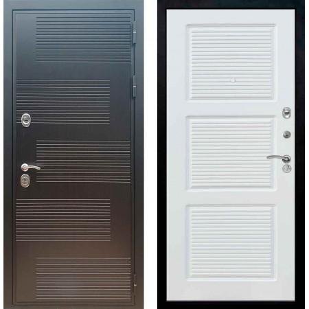 Входная металлическая дверь Рекс Премиум 185 ФЛ 1 Силк сноу