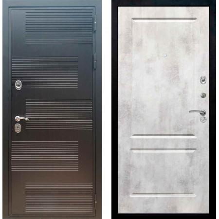 Входная металлическая дверь Рекс Премиум 185 ФЛ 117 Бетон светлый