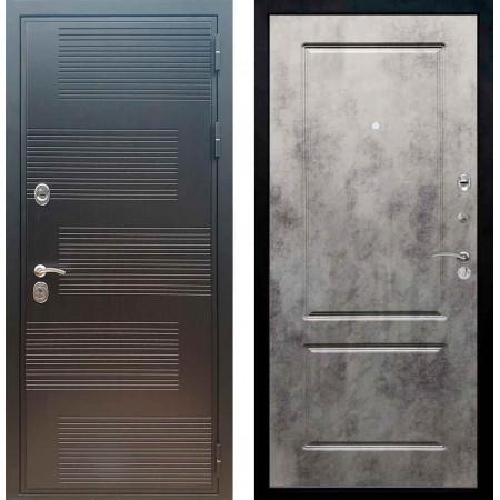 Входная металлическая дверь Рекс Премиум 185 ФЛ 117 Бетон темный