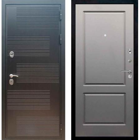 Входная металлическая дверь Рекс Премиум 185 ФЛ 117 Грей Софт (Серый светлый)