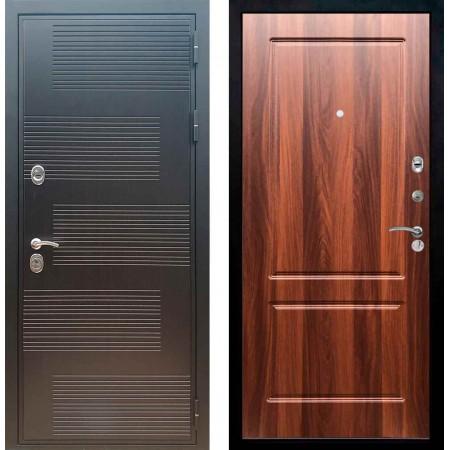 Входная металлическая дверь Рекс Премиум 185 ФЛ 117 Орех итальянский
