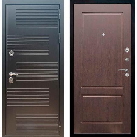 Входная металлическая дверь Рекс Премиум 185 ФЛ 117 Орех премиум