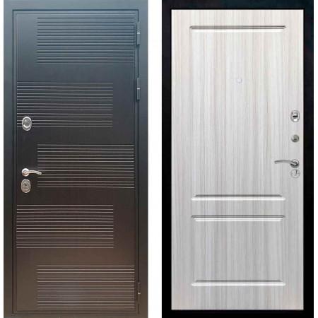 Входная металлическая дверь Рекс Премиум 185 ФЛ 117 Сандал белый