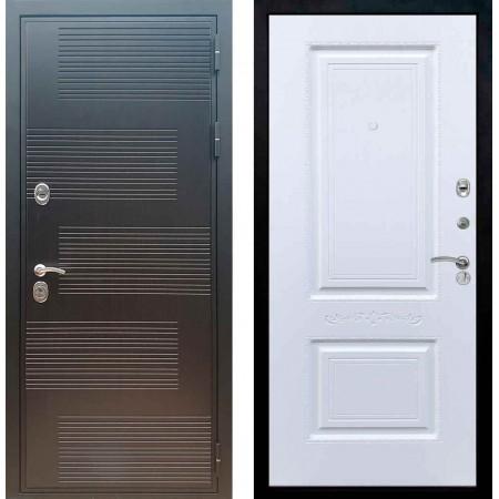 Входная металлическая дверь Рекс Премиум 185 Смальта 04 Силк сноу