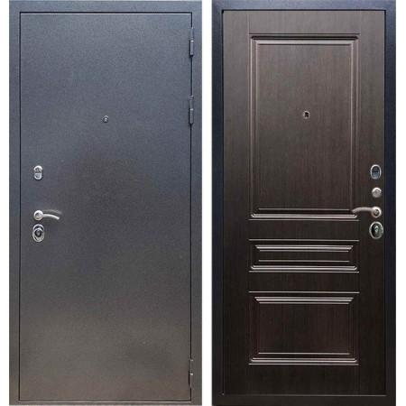Входная дверь REX 11 Антик серебро ФЛ-243 Венге