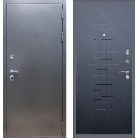 Входная дверь REX 11 Антик серебро ФЛ-289 Ясень черный