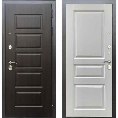 Входная дверь Бульдорс MASS 90 PP Ларче белый (с шумоизоляцией)