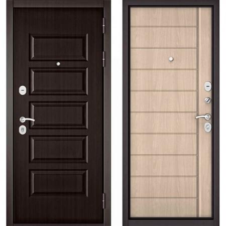 Входная дверь Бульдорс MASS 90 PP Ясень ривьера крем (с шумоизоляцией)