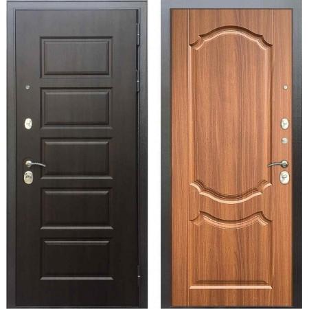 Входная дверь Бульдорс MASS 90 PP Орех лесной (с шумоизоляцией)