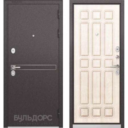 Входная дверь Бульдорс Standart 90 D-4 Ларче бьянко (Трехконтурные)