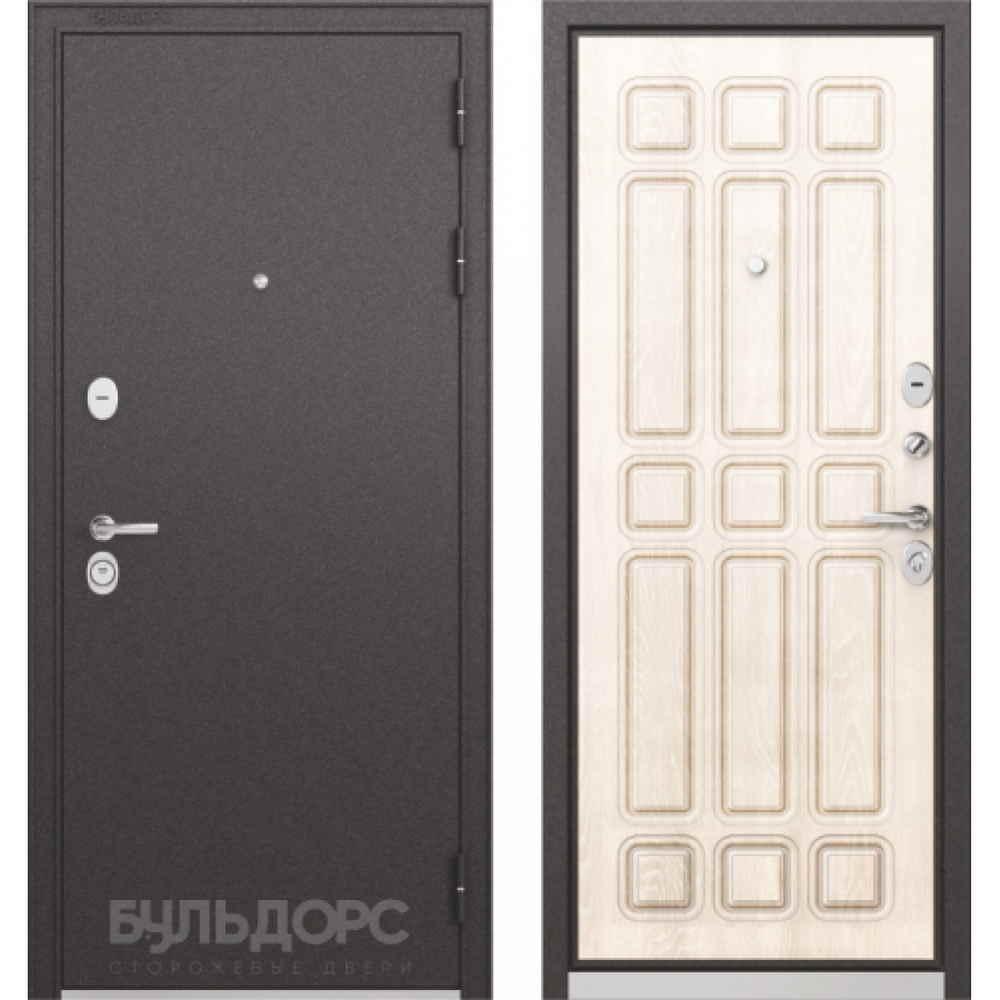 Входная дверь Бульдорс Standart 90 Ларче бьянко (Трехконтурные)