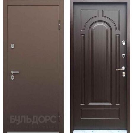 Входная дверь с терморазрывом для дома Бульдорс ТермоБУЛЬ-1 Венге конго (Морозостойкие)
