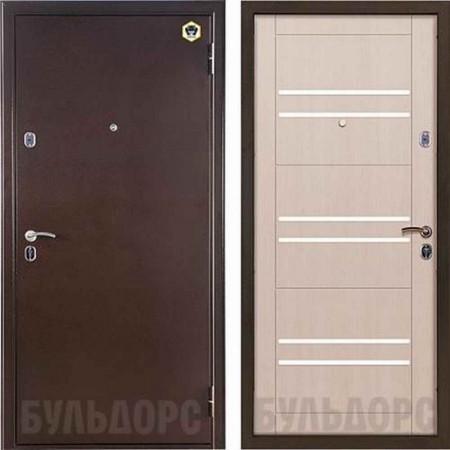 Входная дверь Бульдорс 13М в цвете шамбори светлый М-3 (Антивандальные)