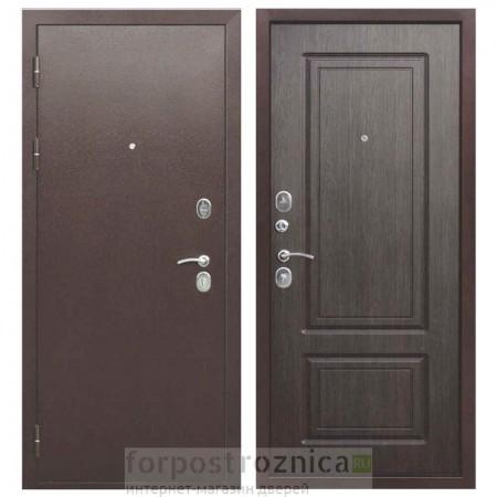 Входная дверь Цитадель 10 см Толстяк РФ Венге (Трехконтурные)