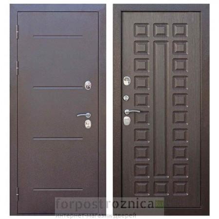 Входная дверь для дома с терморазрывом  Цитадель Изотерма 11 см венге