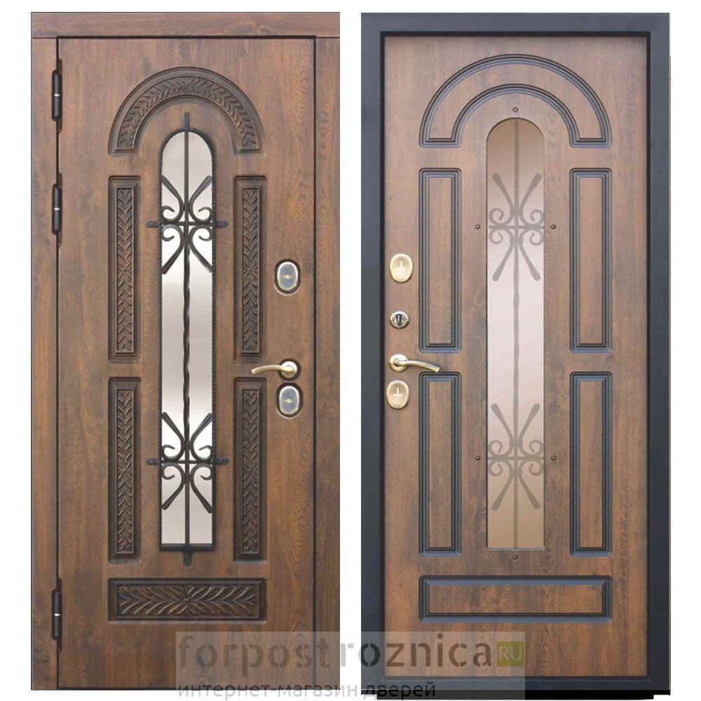 Входная дверь Цитадель Виконт (Морозостойкие)