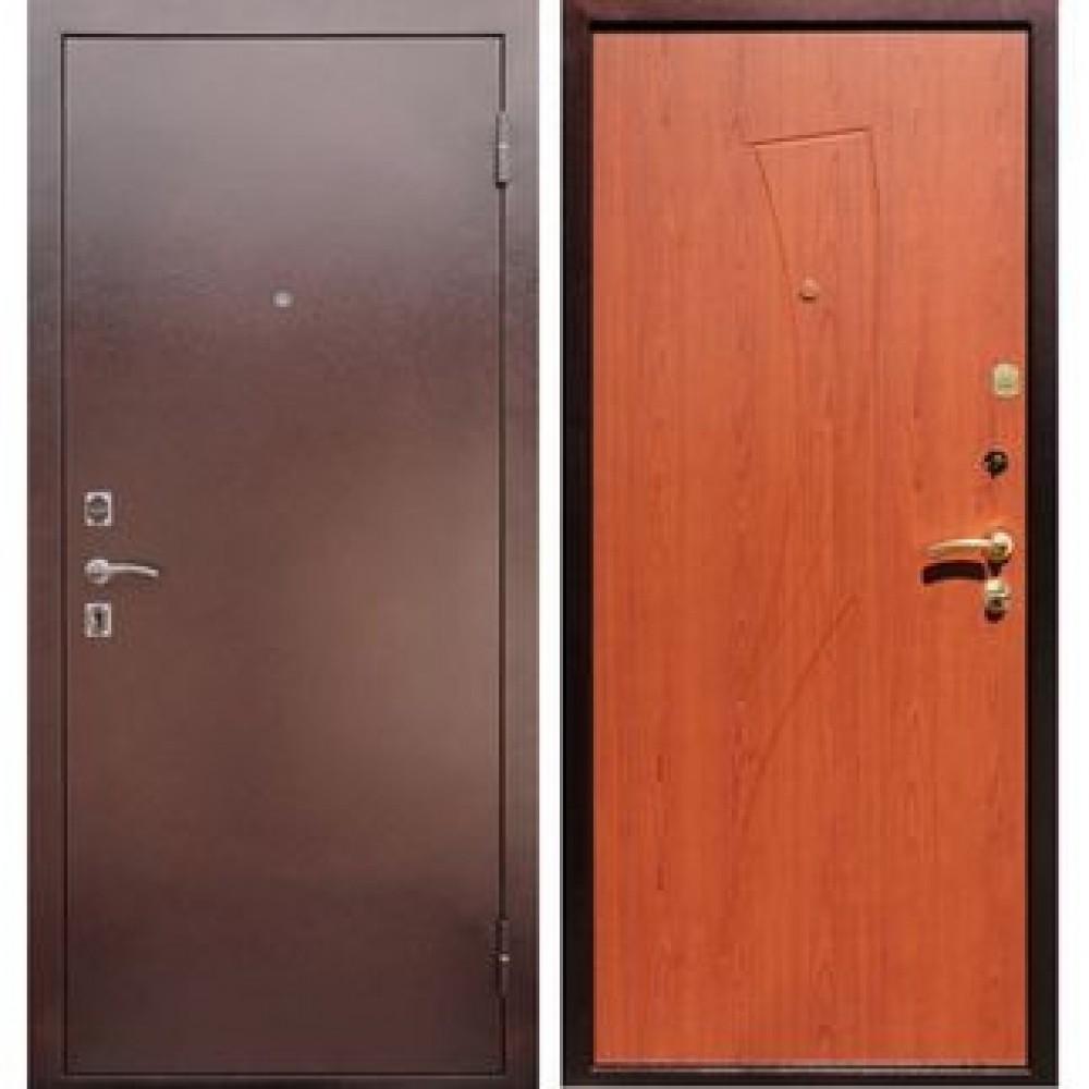 Входная дверь на дачу REX 1 Парус Клен красный (Антивандальные)