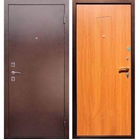 Входная дверь REX 1 Парус Клен медовый ( Антивандальные )