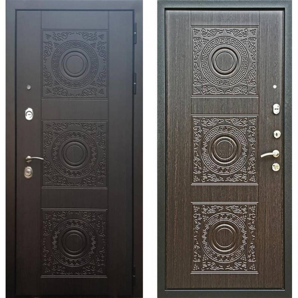 Входная дверь Рекс 10 Венге (сейфовые)