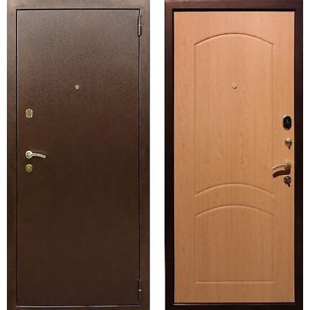 Входная дверь REX 1A Дуб светлый (Наружного открывания)