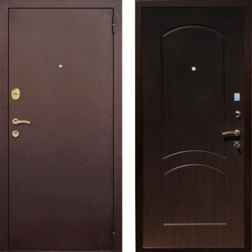Входная дверь Рекс 1A Венге (Наружного открывания)