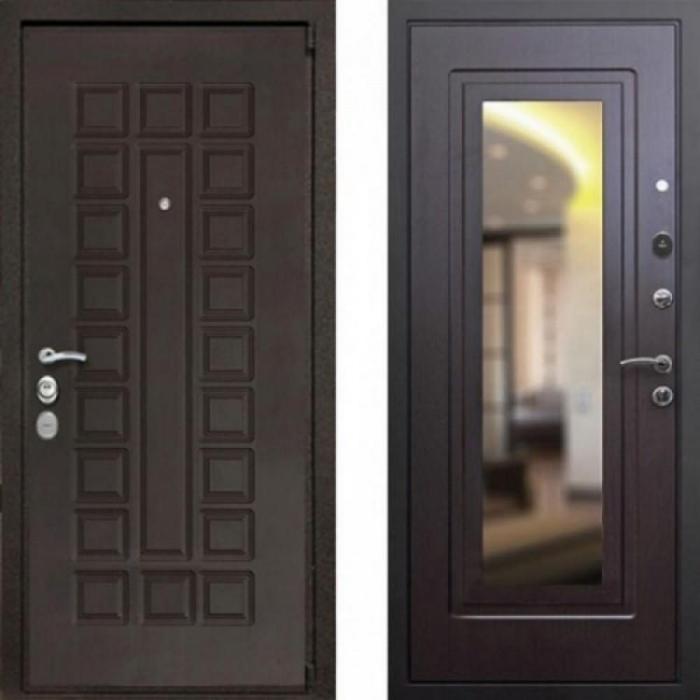 Входная дверь ReX 4A Зеркало Венге (сейфовые)