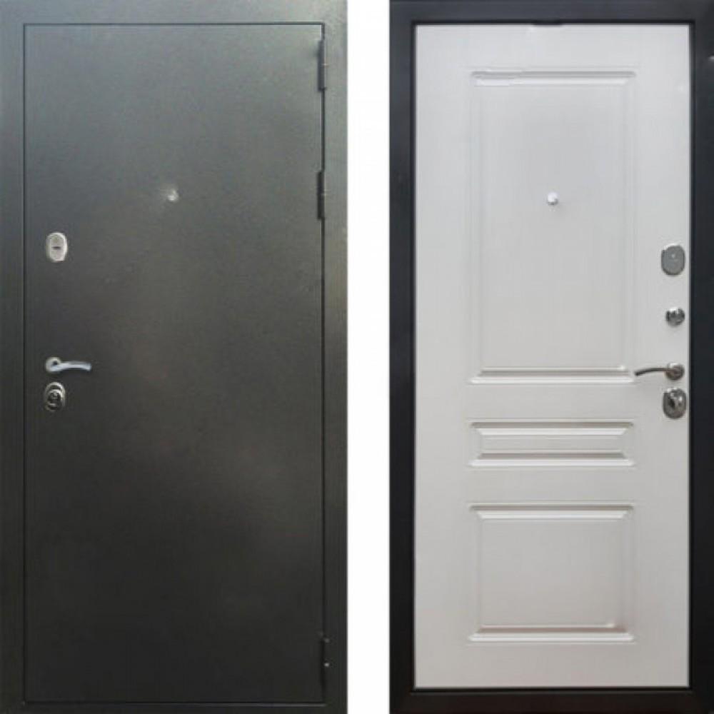 Входная дверь Рекс 5 ФЛ-243 Ясень Белый ( Антивандальные )