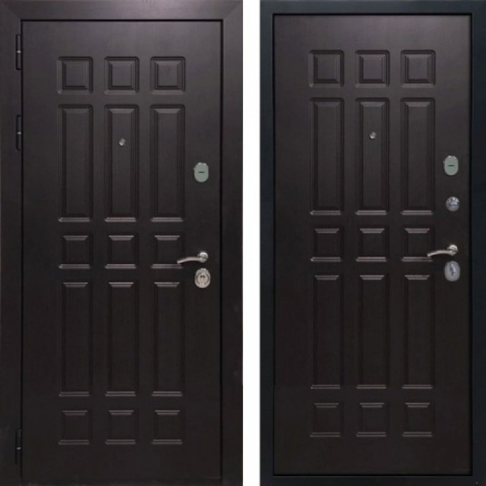 Входная дверь Рекс 8 Венге (сейфовые)