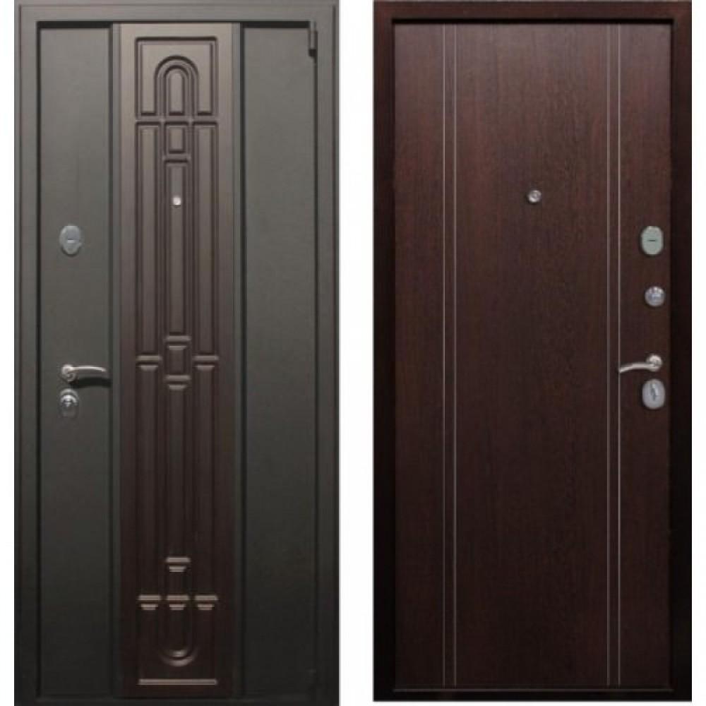 Входная дверь Рекс Комби Венге (С шумоизоляцией)