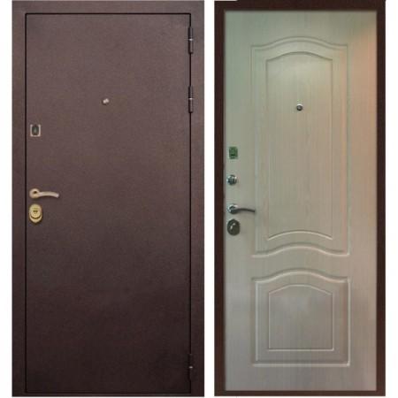 Входная дверь Рекс Лайт 3 Беленый Дуб ( Антивандальные )
