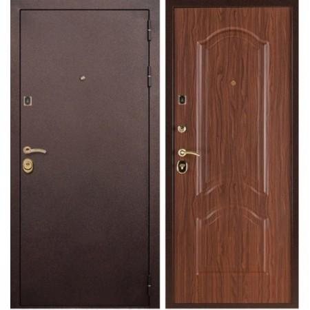 Входная дверь Рекс Лайт 3 Орех ( Трехконтурные)