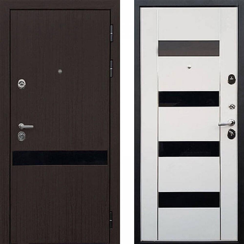 Входная дверь ReX Премьер Z-2  стекло черное (сейфовые)