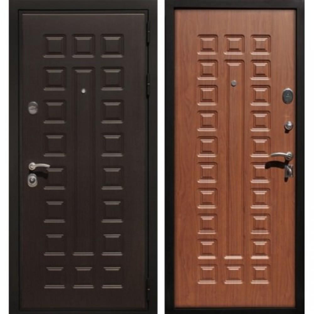 Входная дверь Рекс Премиум 3 Орех  (С шумоизоляцией )