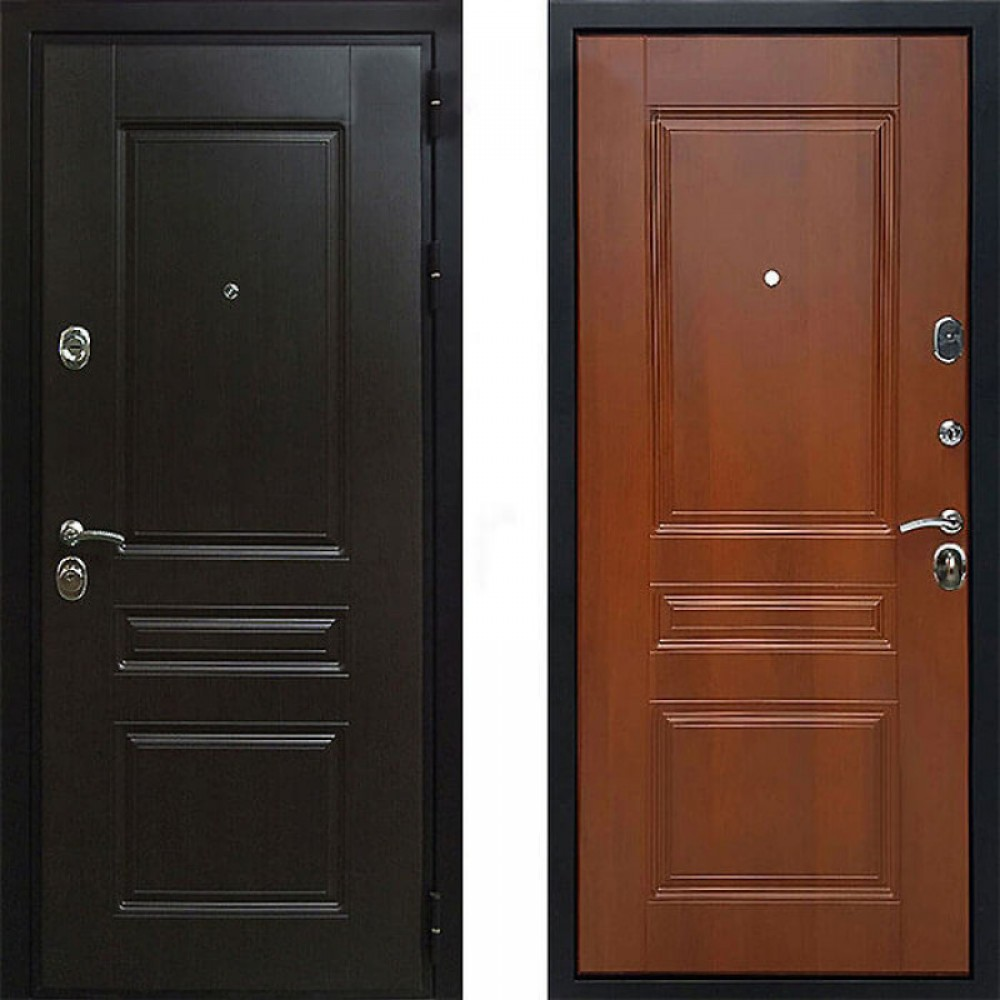Входная дверь Рекс Премиум Н Итальянский Орех (С шумоизоляцией)