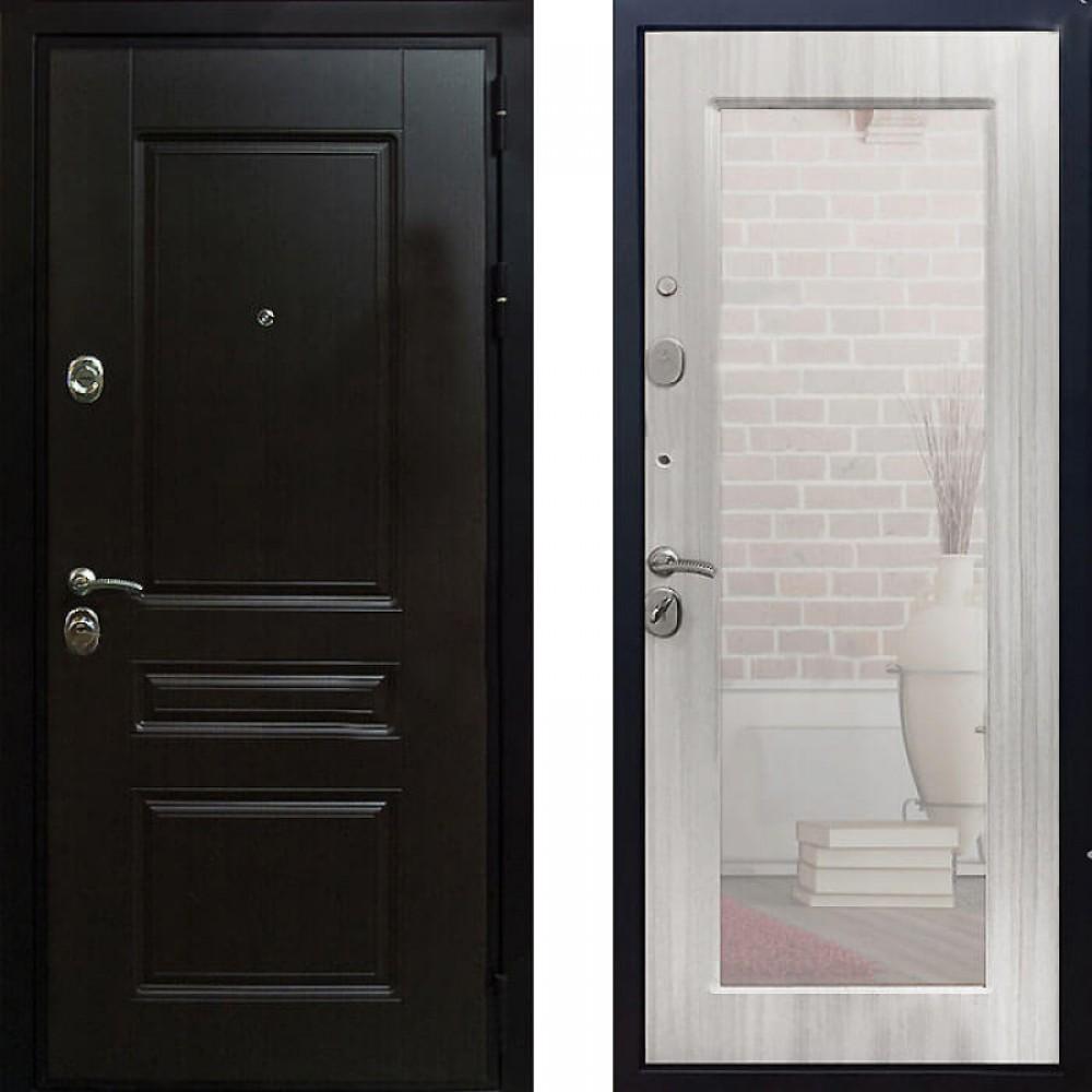 Входная дверь Рекс Премиум Н Сандал Белый Пастораль (С шумоизоляцией)