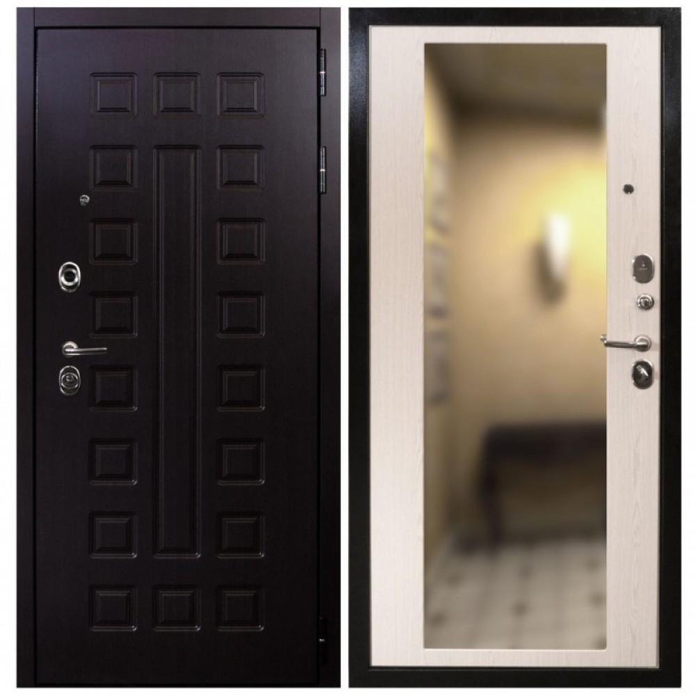 Входная дверь Рекс Сенатор СБ-16 Лиственница Белая (сейфовые)