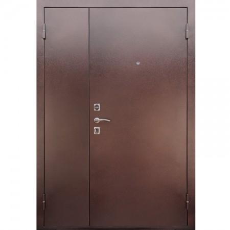 Входная дверь Рекс   77R  в цвете Итальянский орех  (Двухстворчатые)