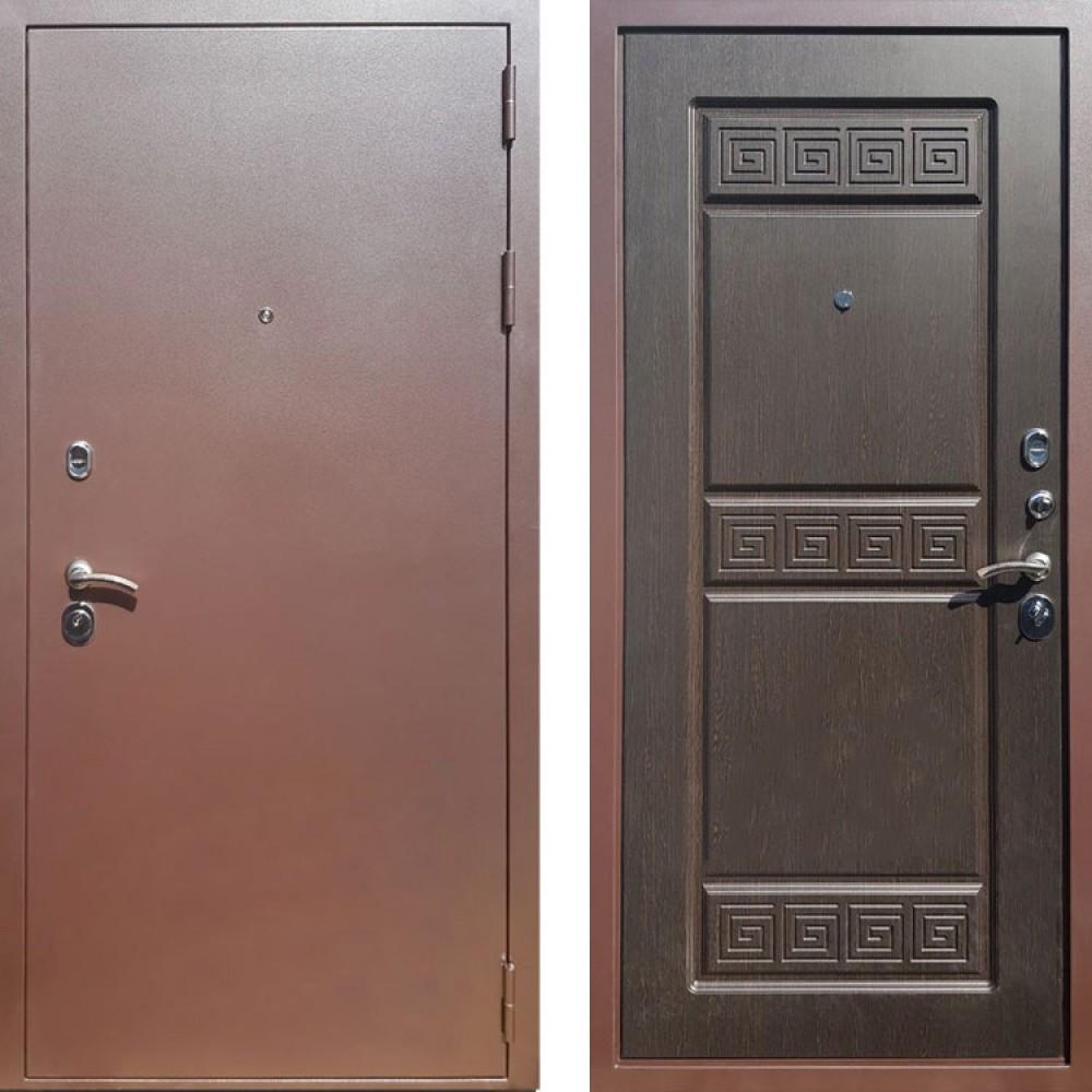 Входная дверь Рекс Троя 3К Венге ( Антивандальные)