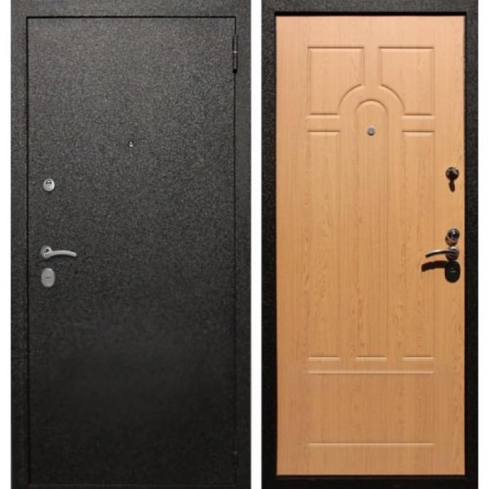 Входная дверь Рекс Верона 16 Дуб Светлый   ( Трехконтурные )