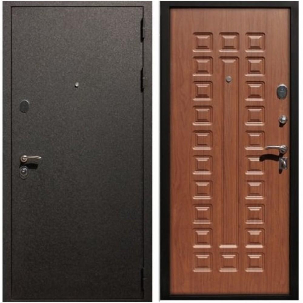 Входная дверь Рекс Верона 16 Орех ( Трехконтурные )