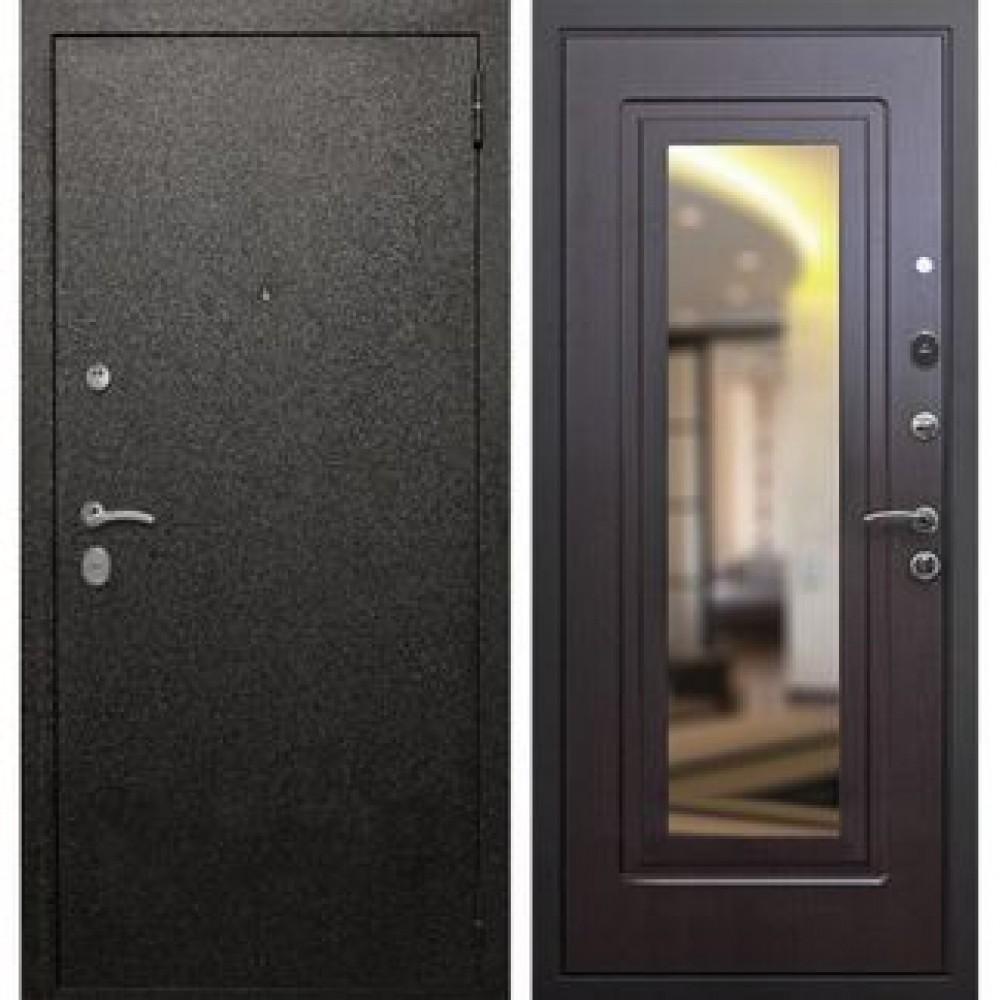 Входная дверь Рекс Верона 6 Зеркало Венге  (Наружного открывания)