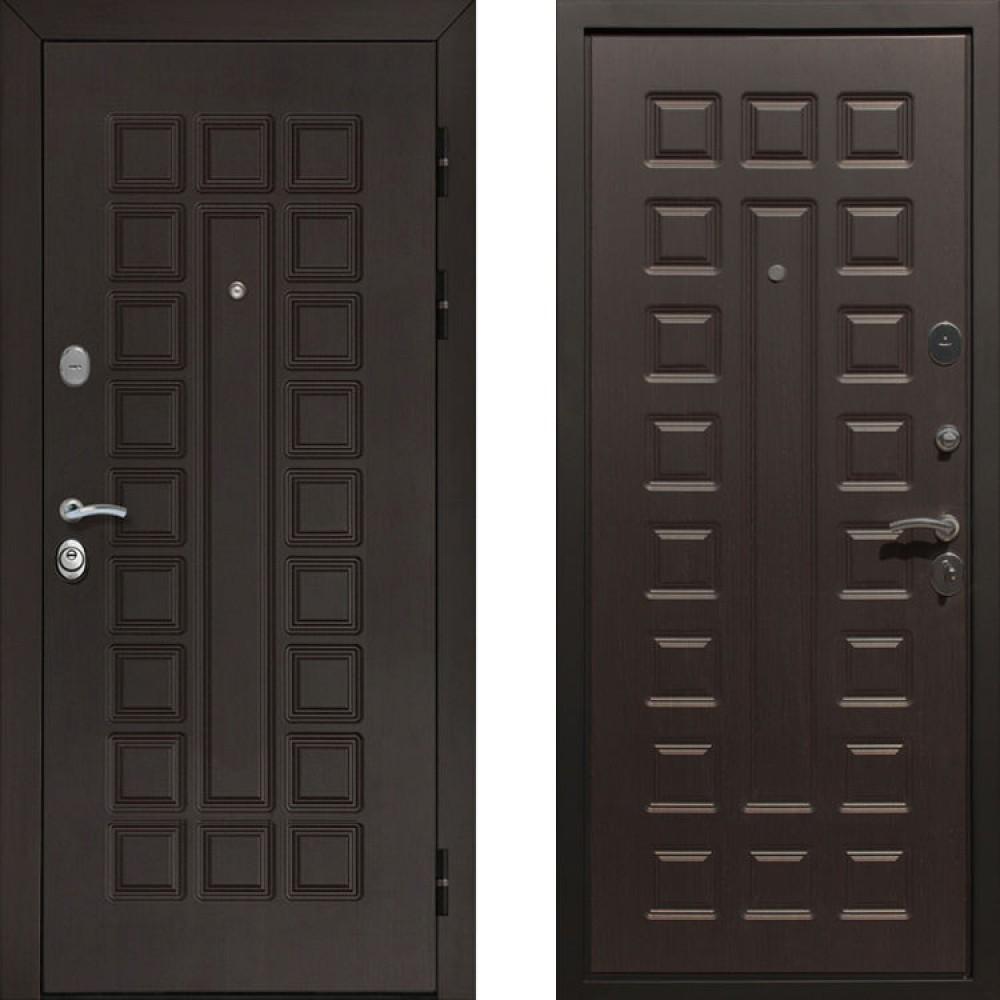 Входная дверь Рекс Сенатор Венге (сейфовые)