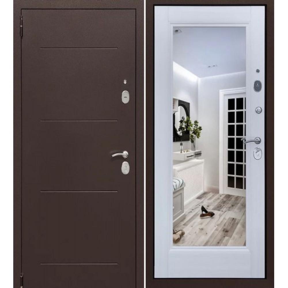 Входная дверь Форпост Альт Зеркало Лиственница