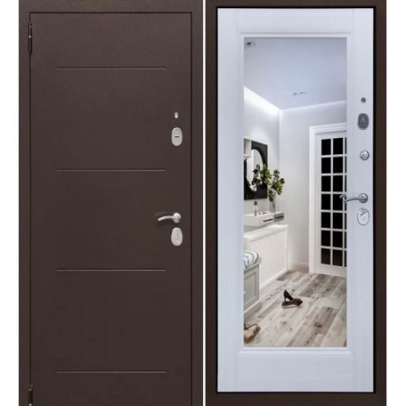 Входные двери в квартиру Форпост Альт Зеркало Лиственница