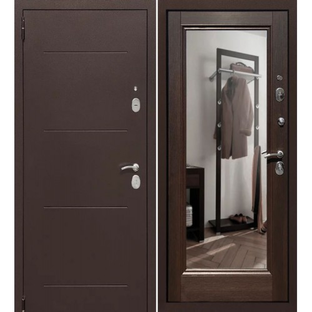 Входная дверь Форпост Альт Зеркало Венге