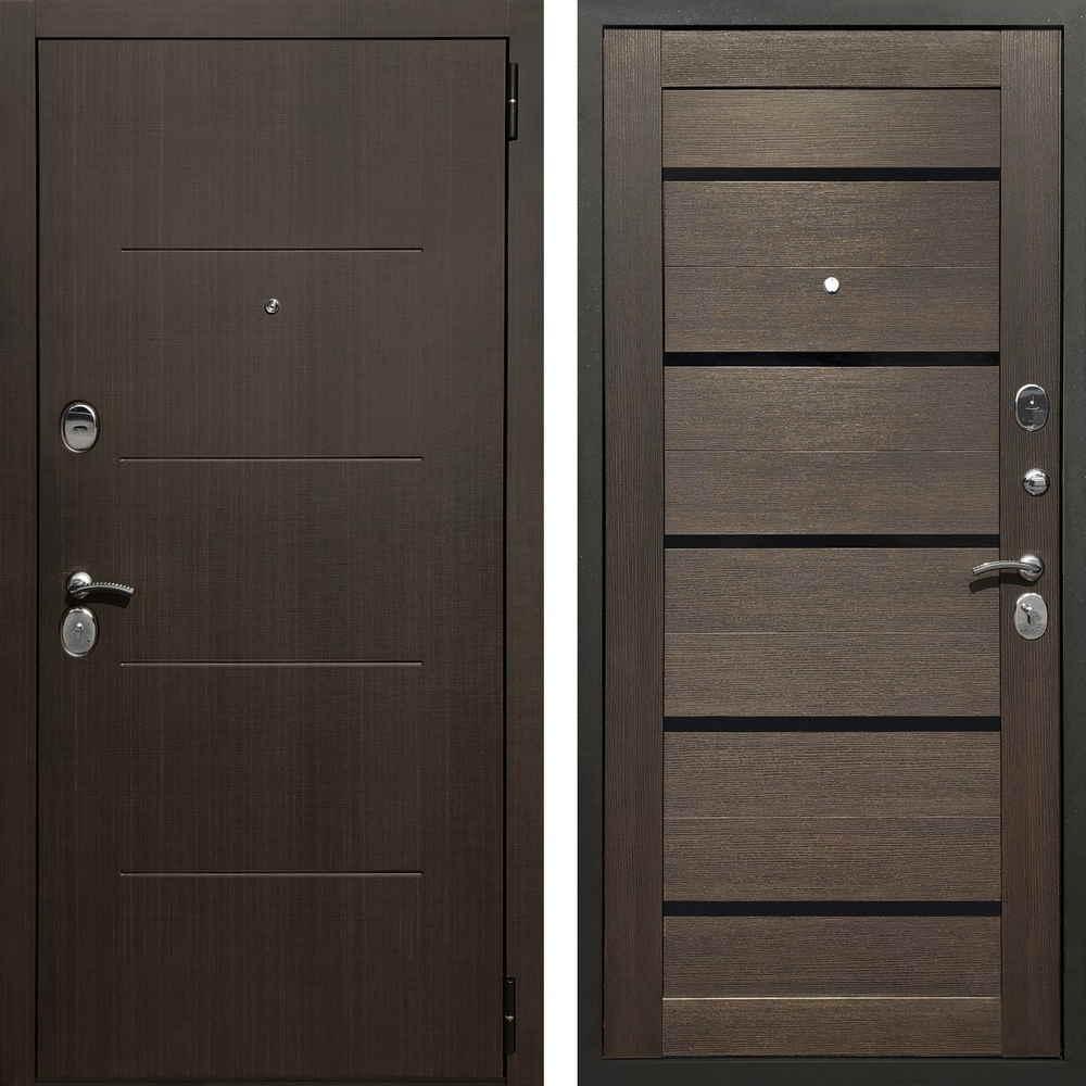 Входная дверь Форпост Адванс Lux Орех темный (звукоизоляционные характеристики)
