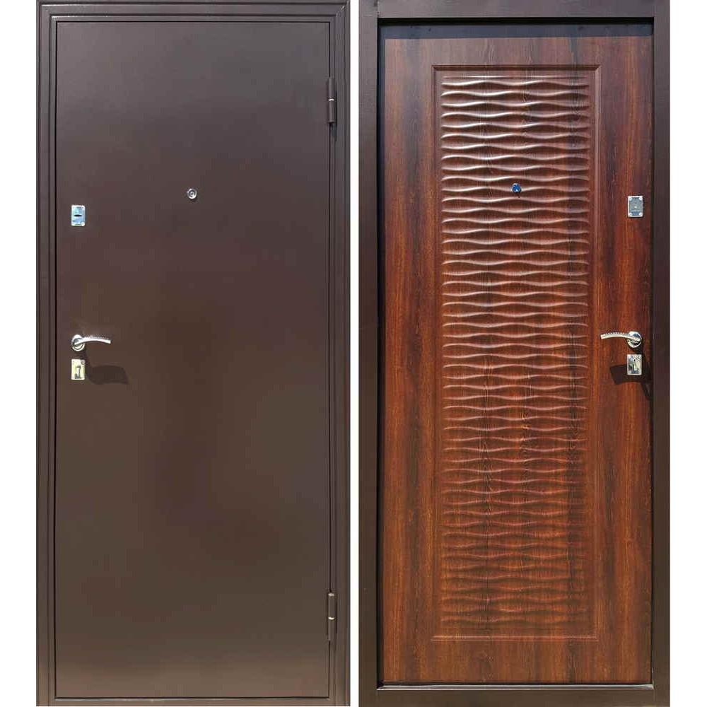 Входная дверь Форпост Волна (Морёный дуб)
